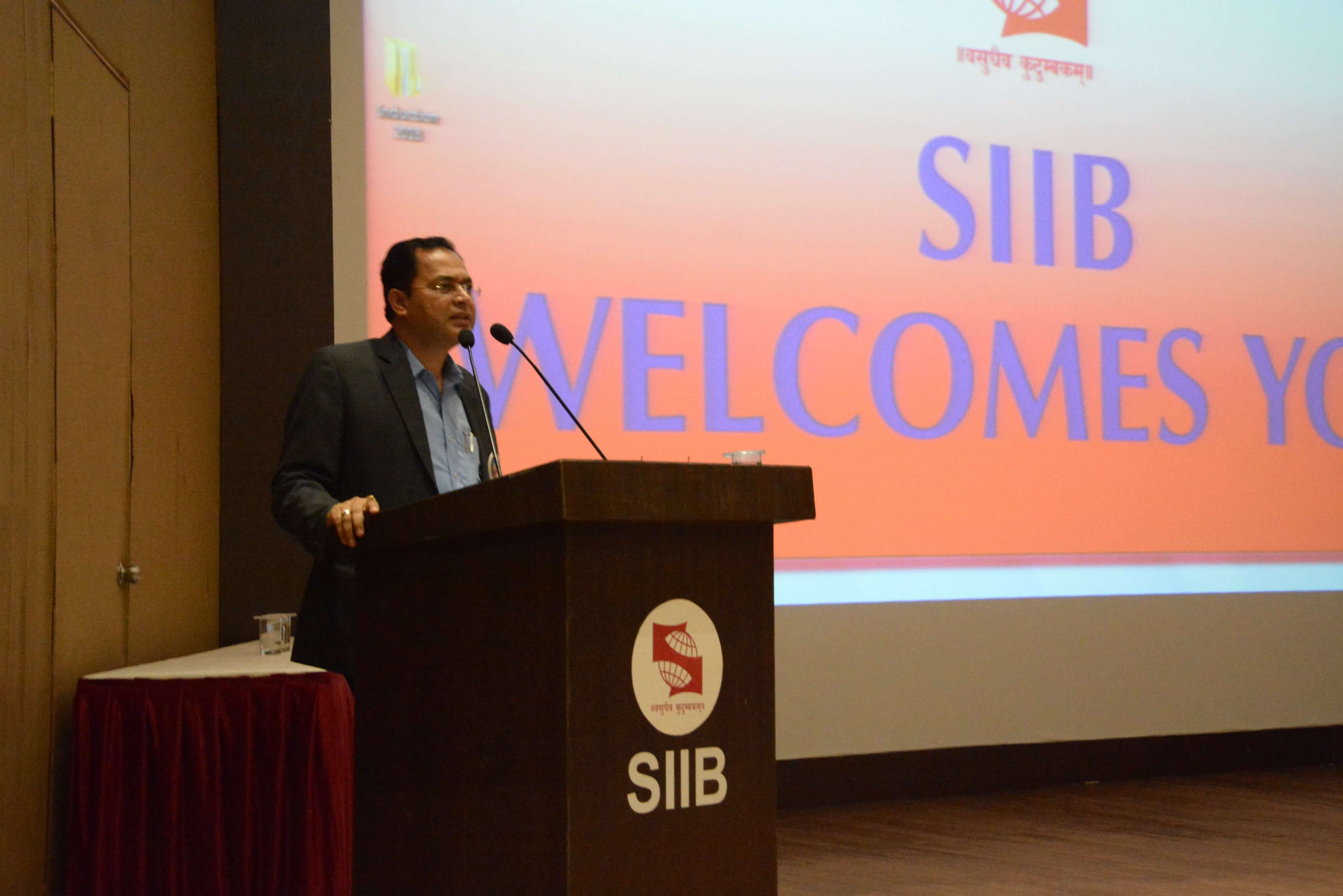 "SIIB organized the ""Induction Program"" for the new batch of 2018-2020!!!"
