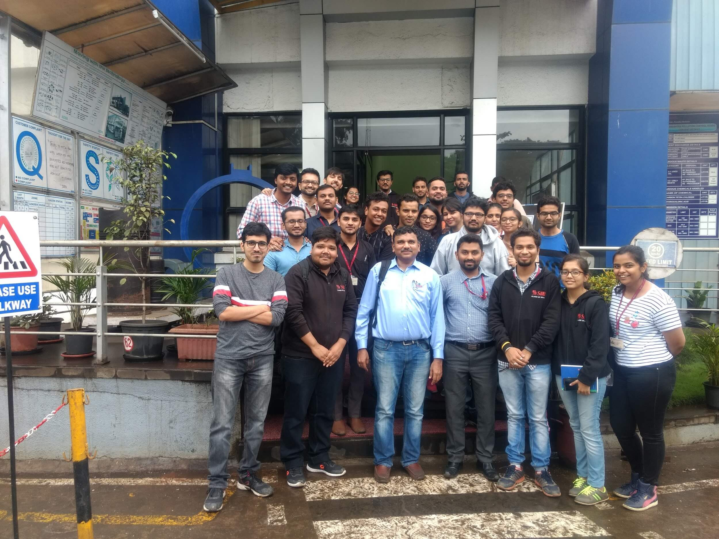 Industrial Visit to Kores India Ltd, Foundry Division