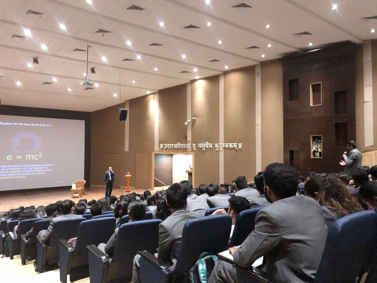 Guest Lecture by Mr. Vikas Gupta