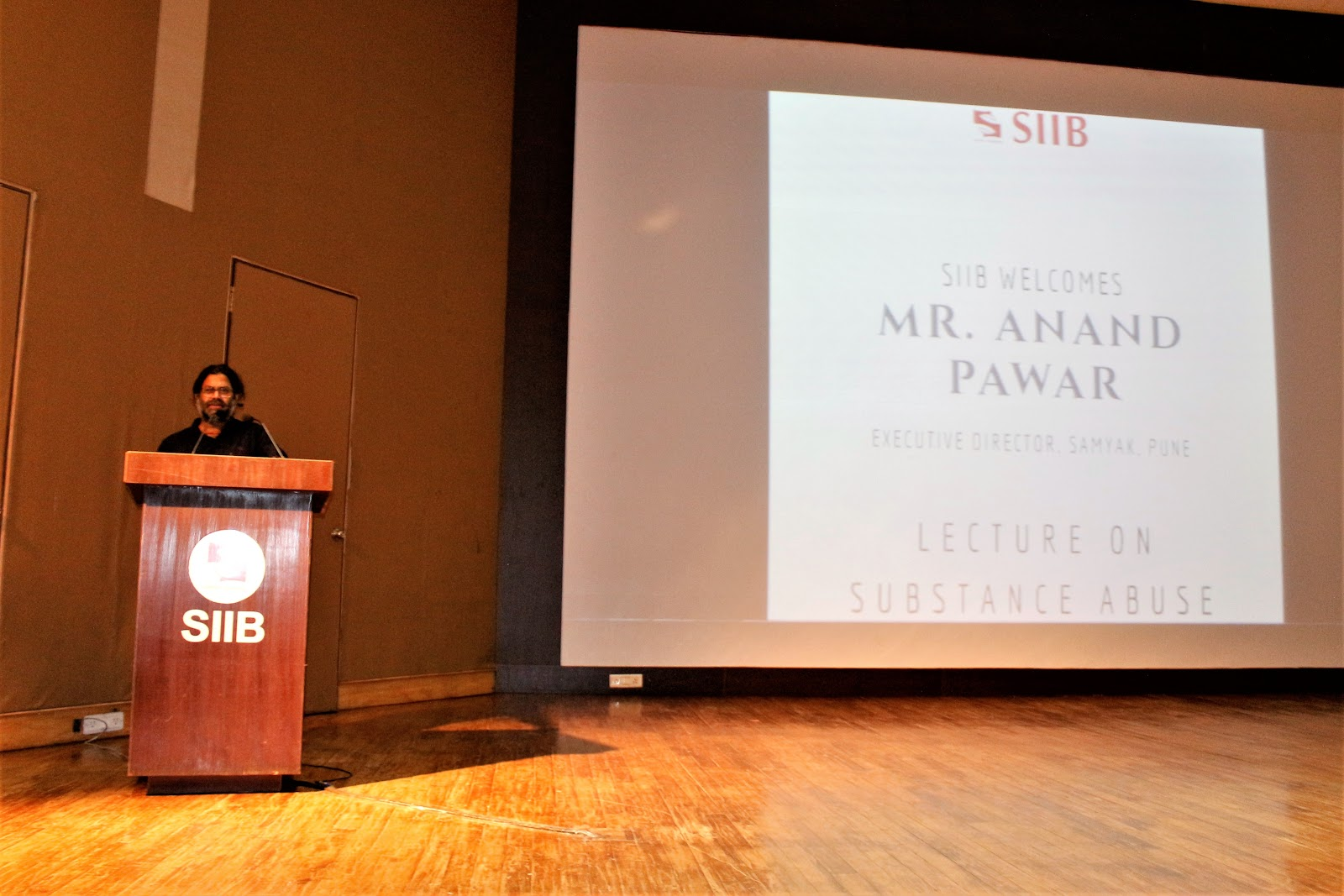 Guest Lecture by Mr. Anand Pawar