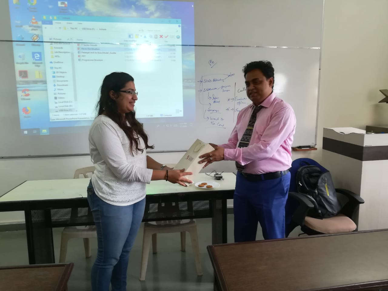 GUEST LECTURE BY MR. MUKESH GUPTA