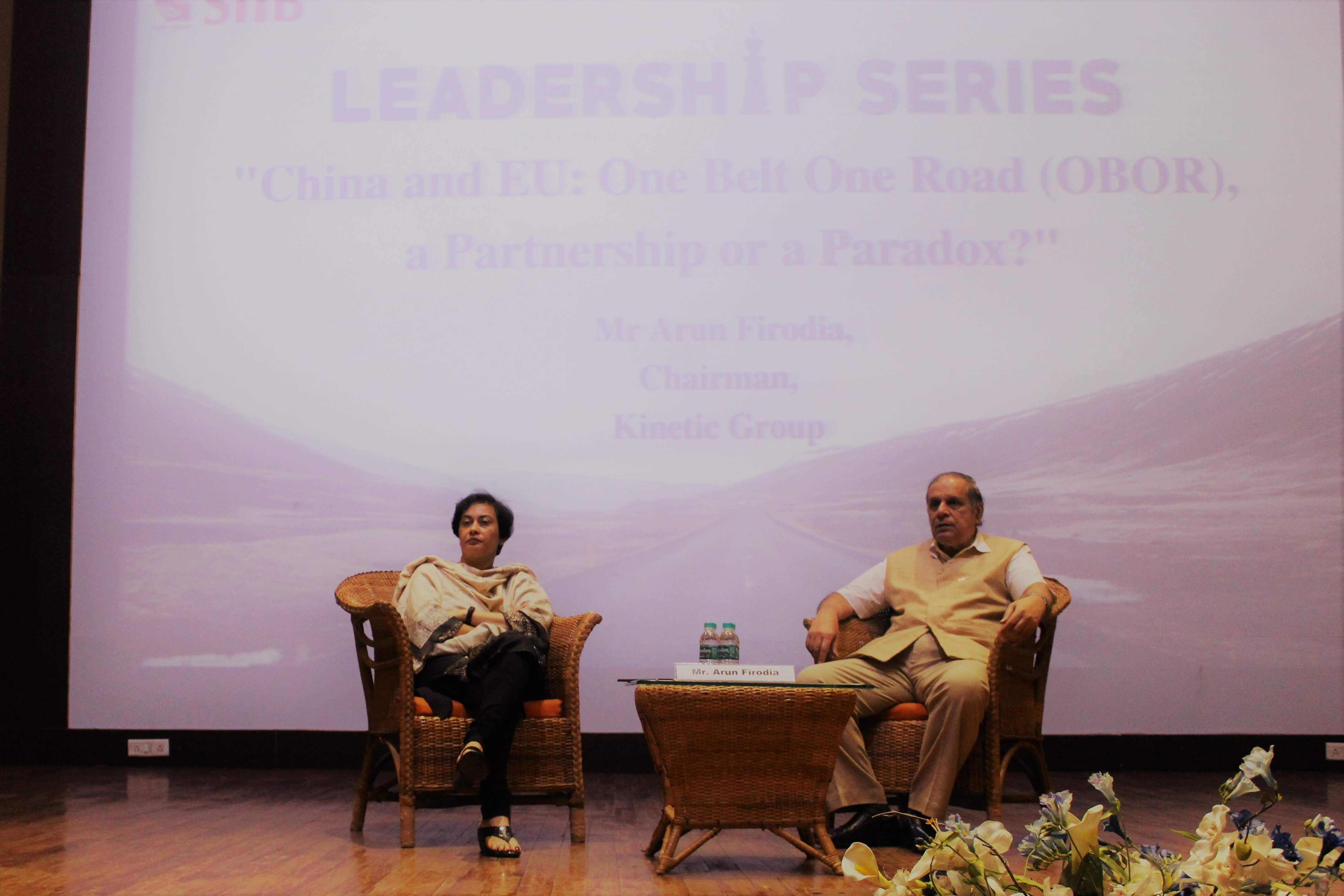 Guest Lecture by Mr Arun Firodia